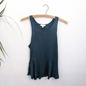 Wilfred Forest Green Tank Top